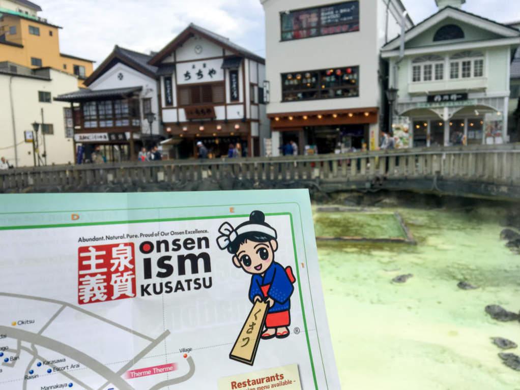 Kusatsu Onsen - Le terme più belle del Giappone